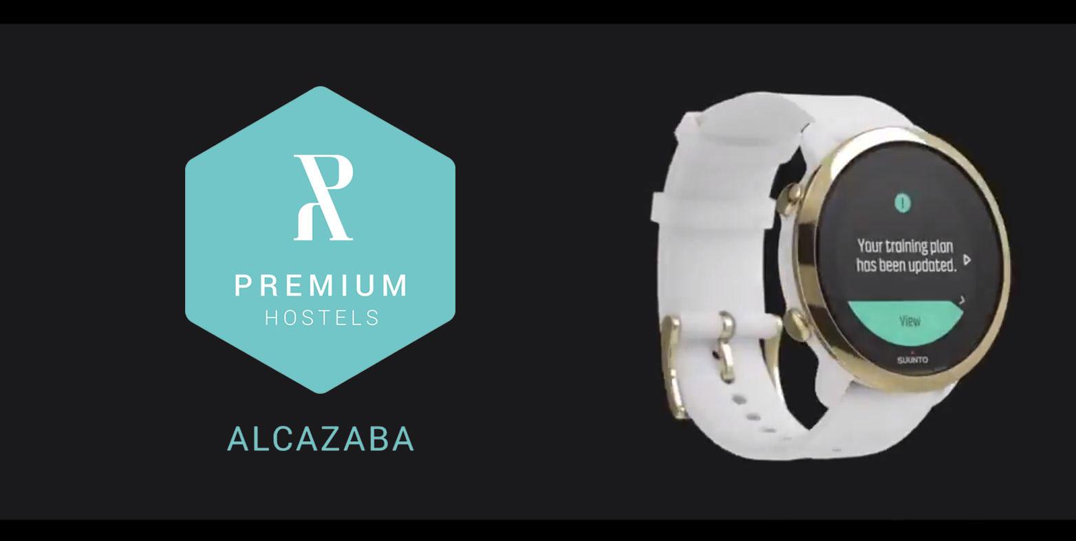 La marca de relojes deportivos Suunto elige nuestro hostel boutique como localización para su anuncio