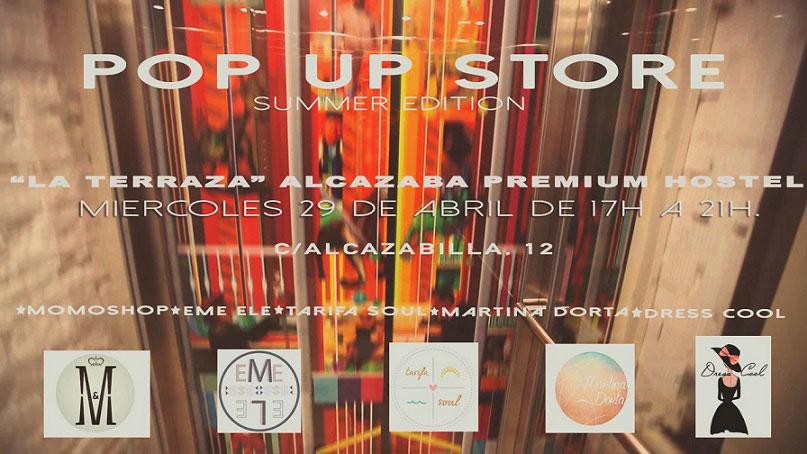 Pop Up Store Showroom at Alcazaba Premium Hostel