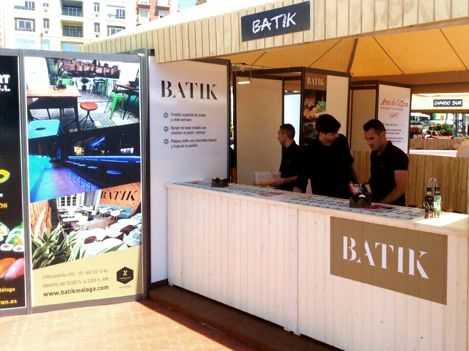 Batik at the Málaga Gastronomy Festival