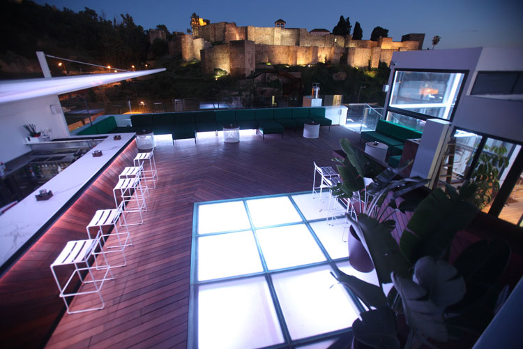 Celebrate the magical San Juan Night with Alcazaba Premium Hostel in the best Rooftop Terrace in Malaga!