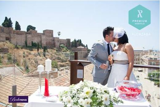 Celebrate your special event in Alcazaba Premium Hostel in Málaga