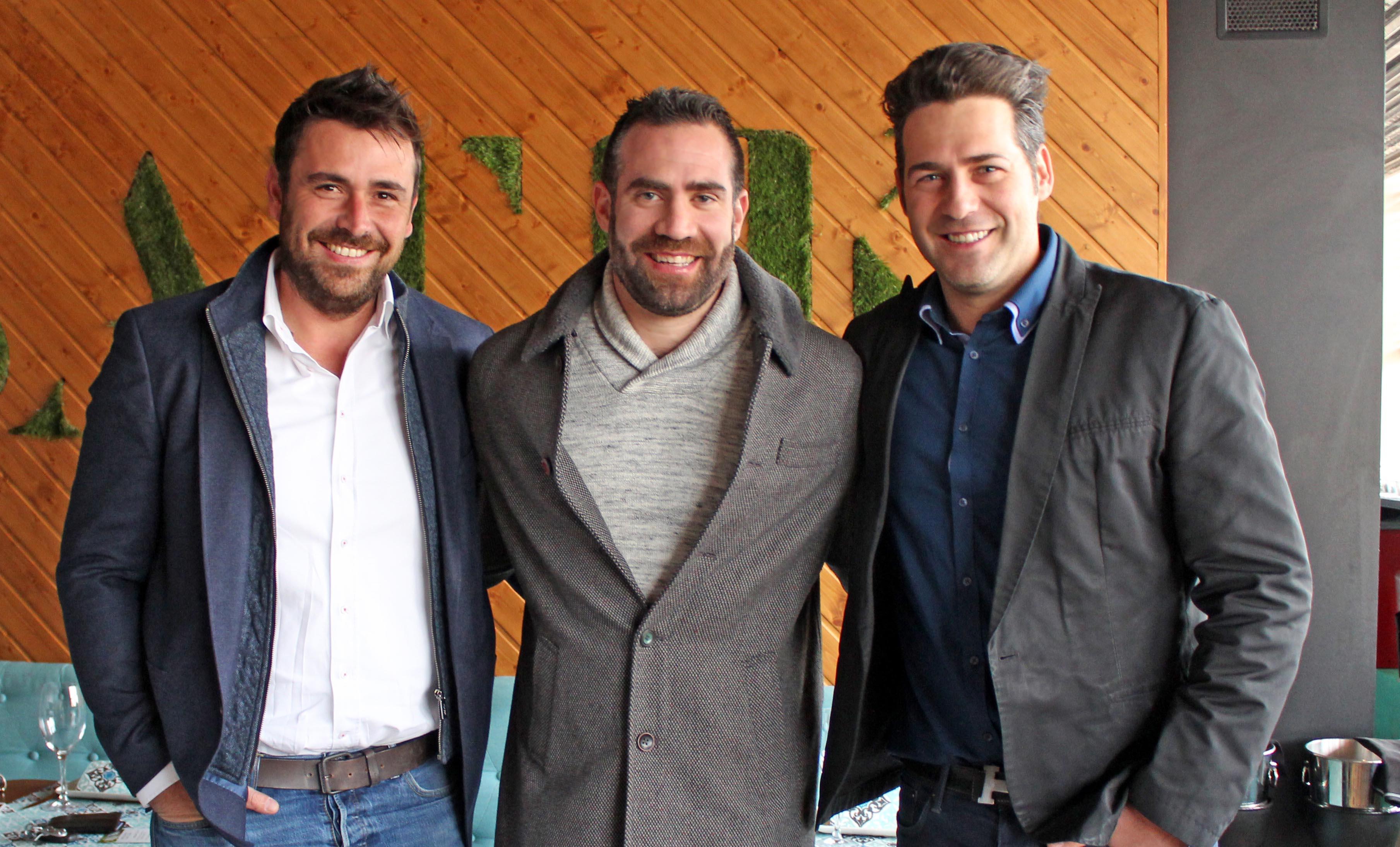 Entrevista a Carlos Cabezas en una de las terrazas en Málaga del Grupo Premium