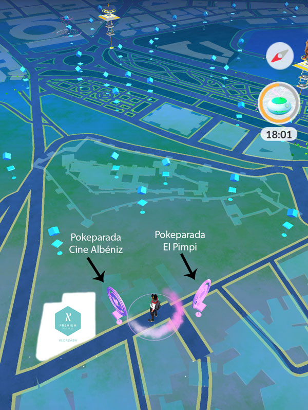 Pokemon Go at Alcazaba Premium Hostel