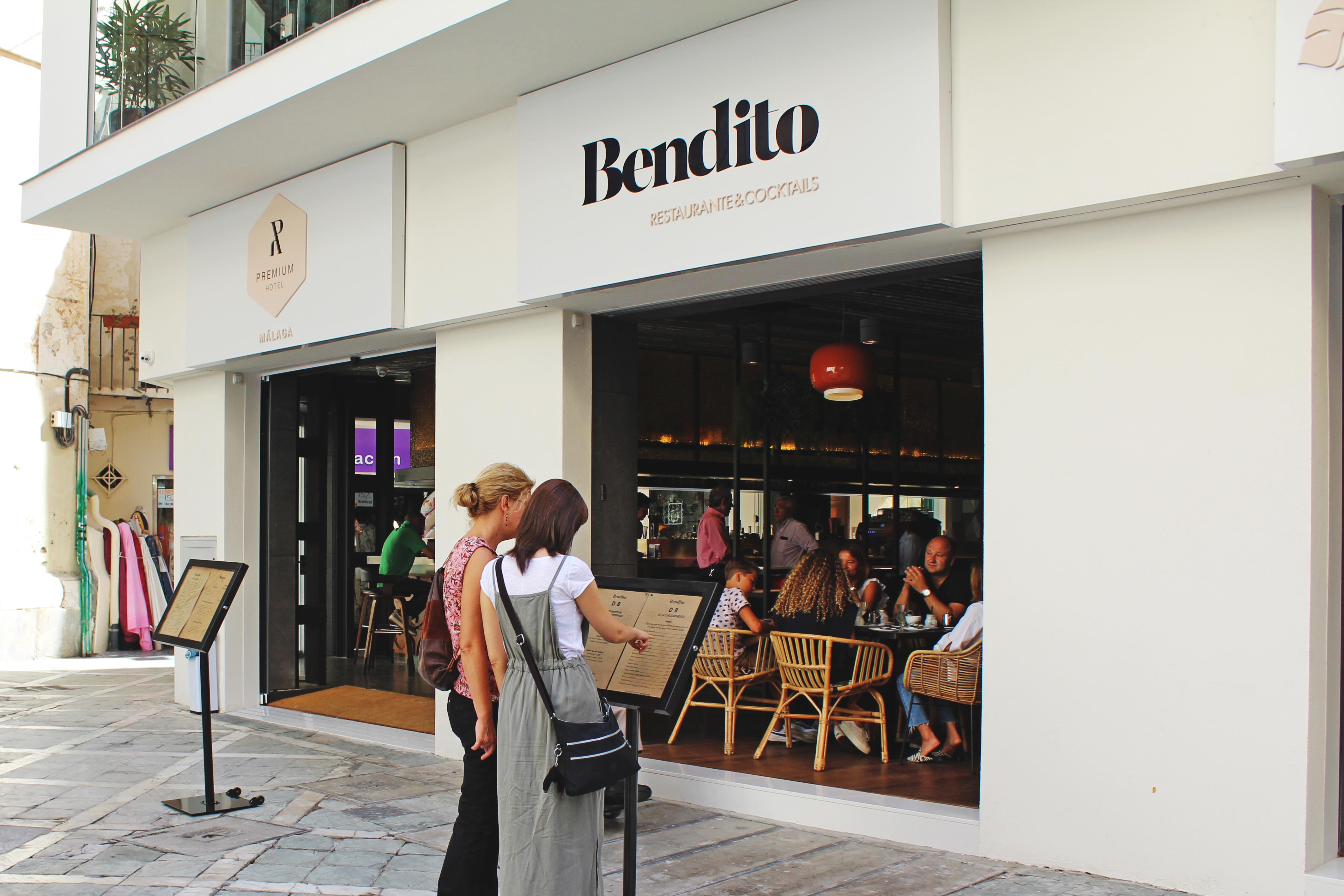 Restaurante Bendito en Málaga Premium Hotel