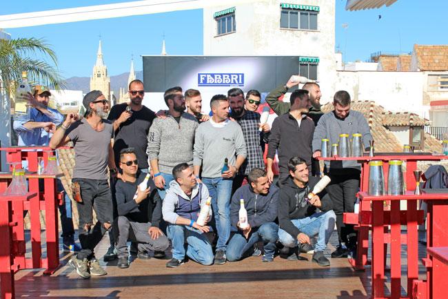 Así fue el curso de coctelería en Málaga Fabbri Mixoflair