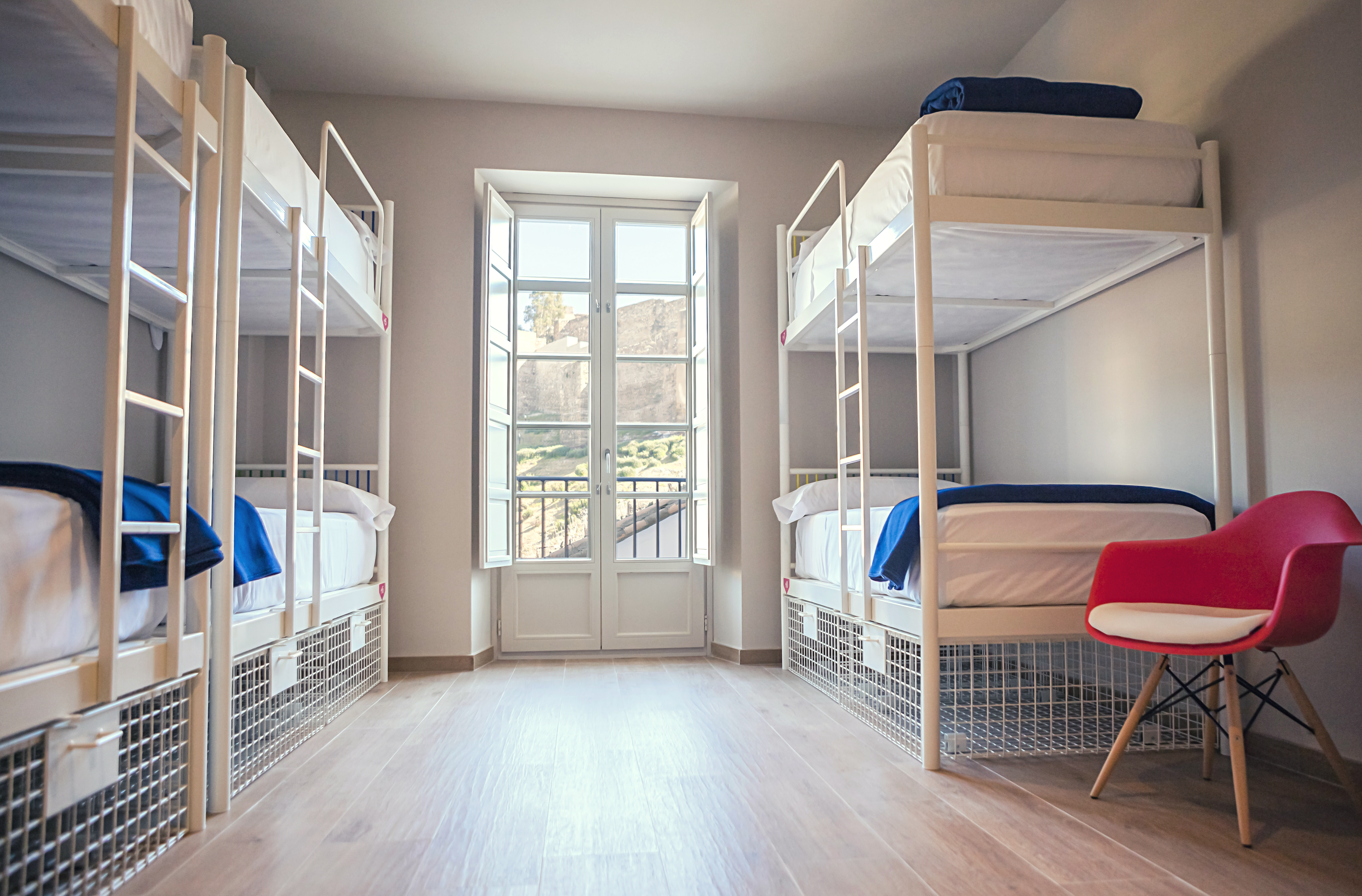 Rooms for groups in Malaga dowtown
