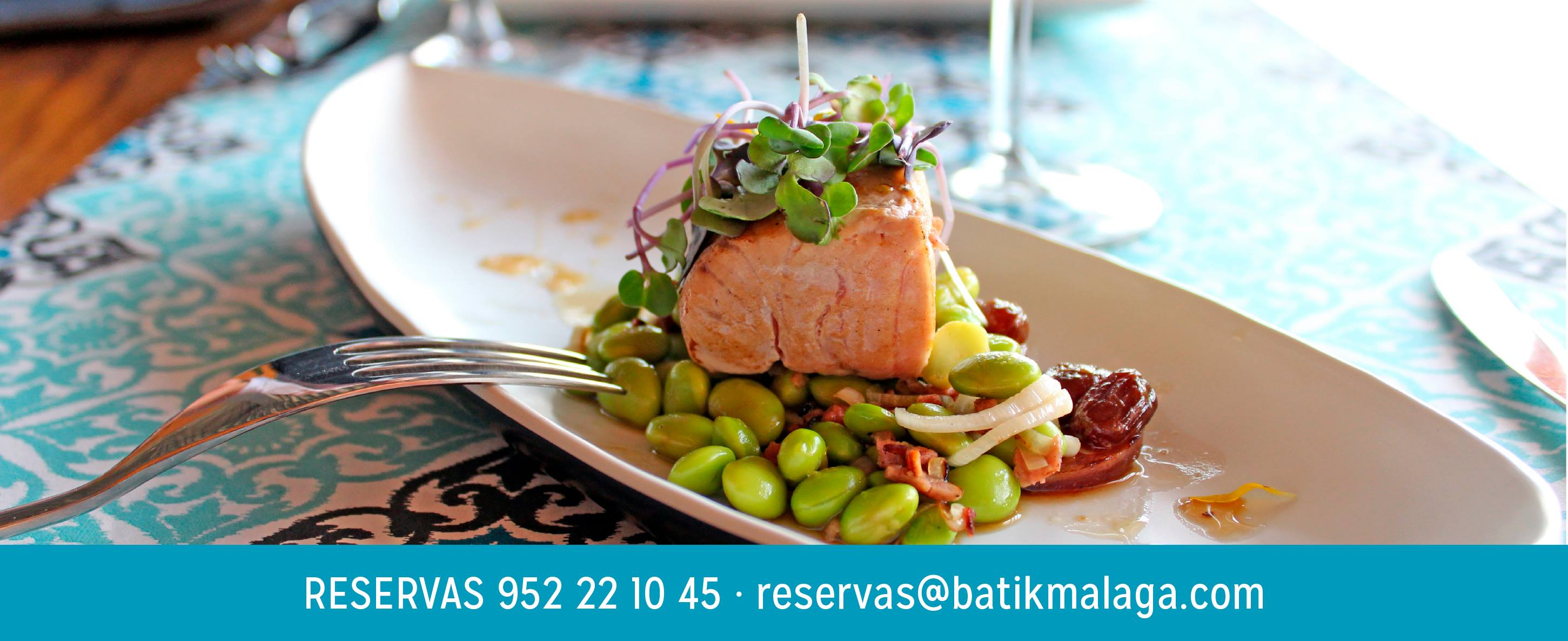 Visit Batik, the best restaurant in Malaga