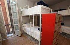 hostel para familias málaga