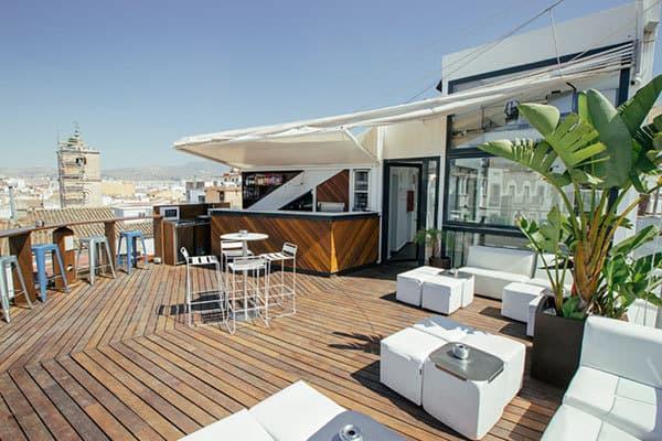 Rooftop Terrace Alcazaba Premium Hostel